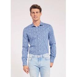 Camicia da Uomo in cotone floreale Gaudì Jeans Primavera Estate 2020