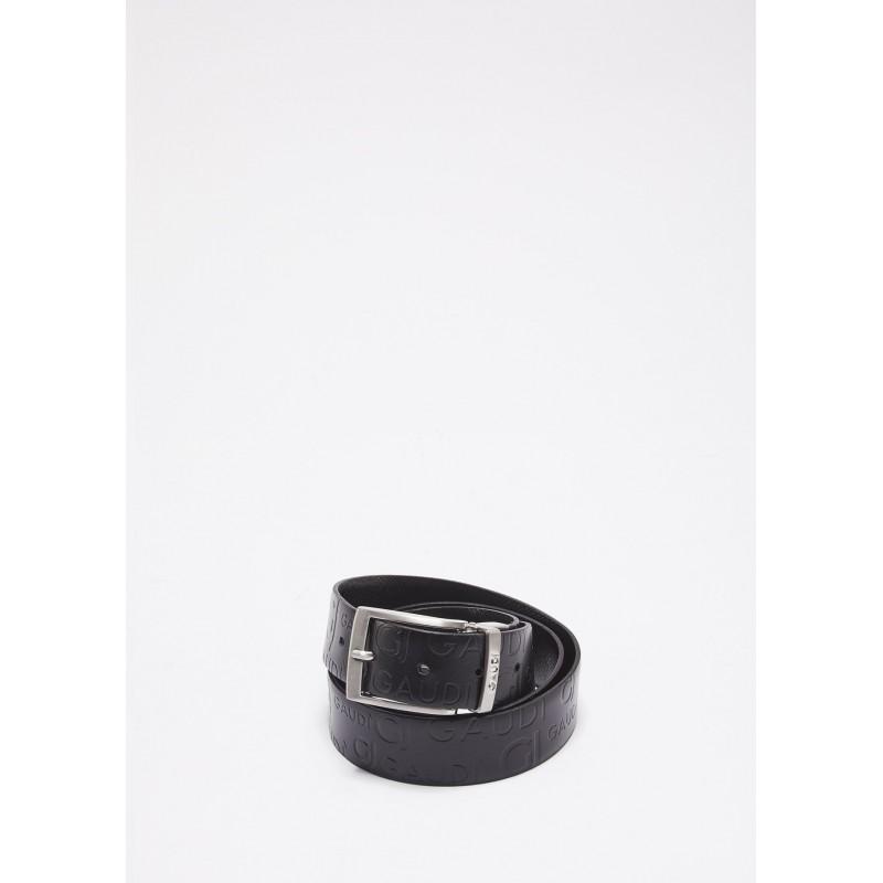 Reversible genuine leather belt Gaudì